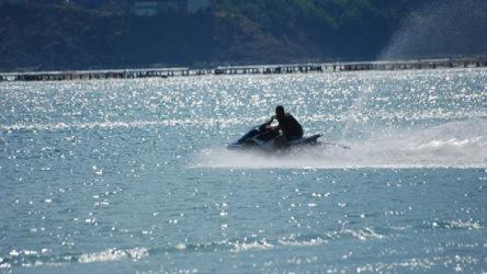 Bursa'da 'jet ski'li tacize gözaltı