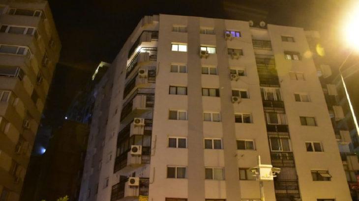 Deprem sırasında paniğe kapılıp 7'nci kattan atladı