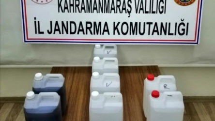 Kahramanmaraş Pazarcık'ta kaçak içki operasyonu
