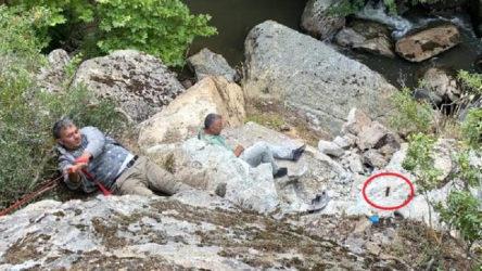İznik'te dinamit patlatan defineciler yaralandı