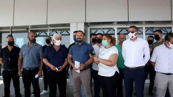 Kuzey Kıbrıs'ta havacılık çalışanları grev başlattı