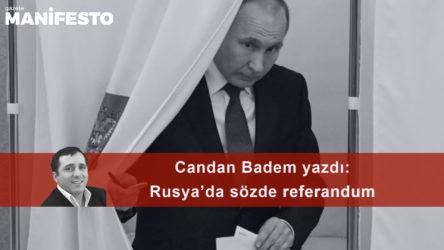 Rusya'da sözde referandum