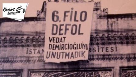 Vedat Demircioğlu'nun bayrağı Beyazıt Kulesinde dalgalanmaya devam ediyor!