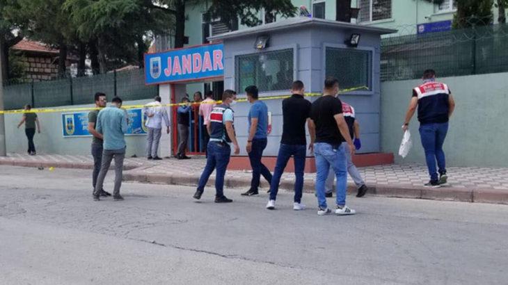 Kütahya'da jandarma karakoluna saldıran kişi yakalandı