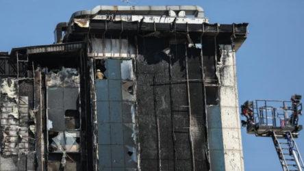 Bayrampaşa'da kültür merkezi yandı