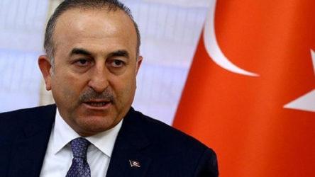 Çavuşoğlu, Libya'da ateşkes için ön şartı açıkladı