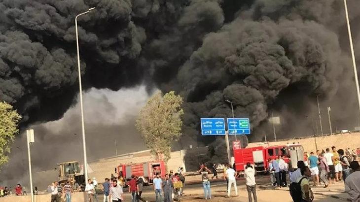 Mısır'da petrol boru hattında yangın