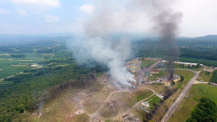 Aynı fabrikada 11 yılda üçüncü patlama!