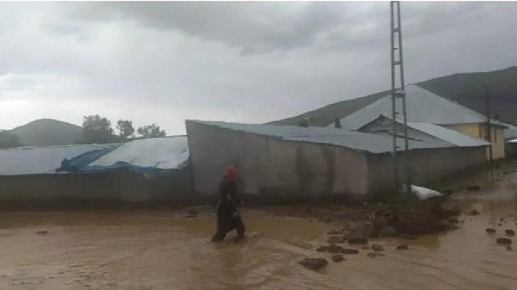 Patnos'ta sel felaketi: 3 köyde dere taştı