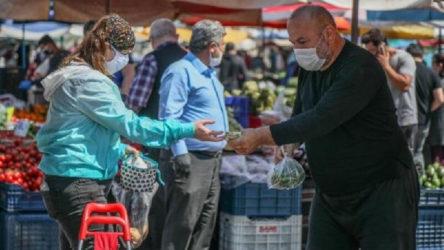 Nişana katılanlarda virüs çıktı, pazar yeri kapatıldı