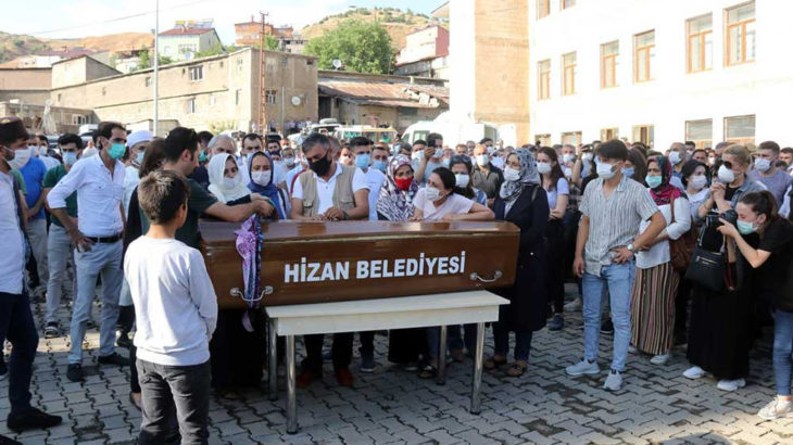 Pınar Gültekin'e veda