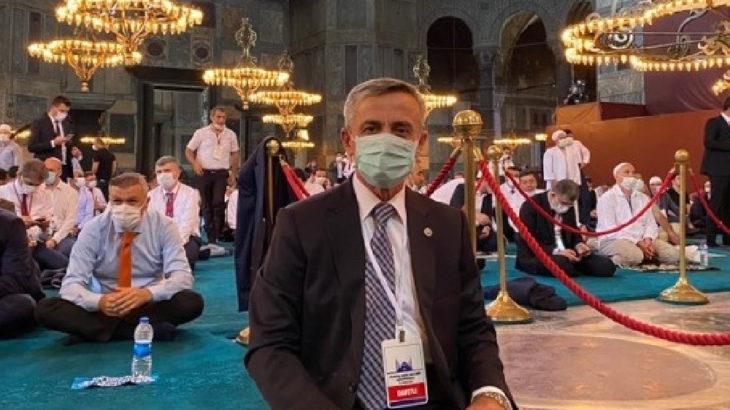 Ayasofya'dan fotoğraf paylaşan AKP'li Şirin Ünal'a 'hatırlatma': Nadira'ya ne oldu?