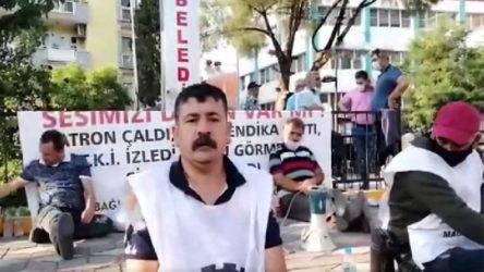 Somalı madenciler oturma eylemi başlattı