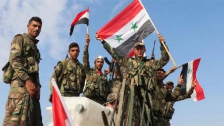 Suriye ordusu, Hama ve İdlib'de cihatçı militanların mevzilerini bombaladı