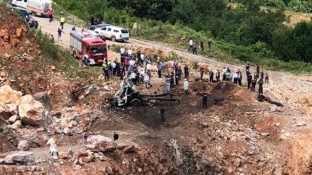 Sakarya'da yine patlama: Ölü ve yaralılar var