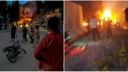 Tel Abyad'da bomba yüklü araç patlatıldı
