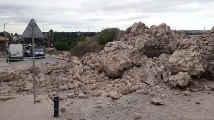 İstanbul'da surların bir bölümü yıkıldı: 'Büyük bir yok oluşla karşı karşıyayız'