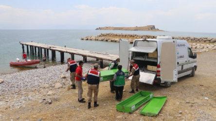 Van Gölü'nde 6 sığınmacının daha cesedi bulundu