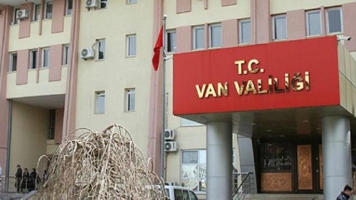 Van'da eylem ve etkinlikler yasaklandı