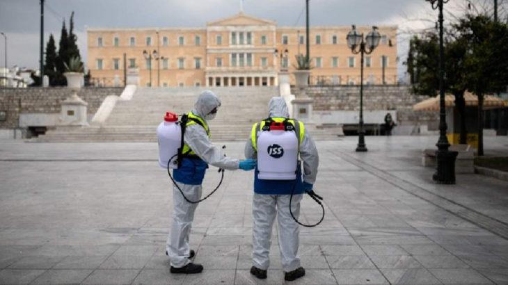 Vaka sayısının yükseldiği Yunanistan'da tedbirler artırılıyor
