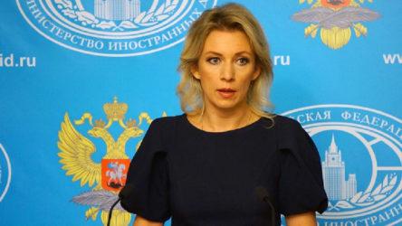 Zaharova: ABD'nin İran'a yönelik silah ambargosunu uzatma teklifi dayanaksız