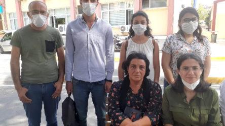 TKH Genel Başkanı Aysel Tekerek, ölüm orucundaki avukatlar Timtik ve Ünsal'ı ziyaret etti