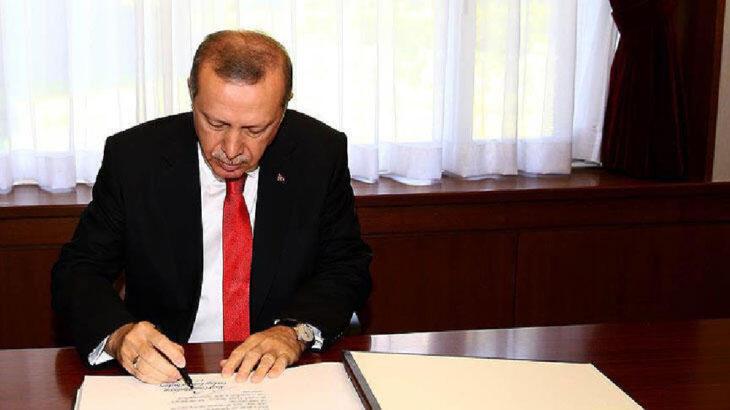 Erdoğan'dan çok sayıda üniversiteye rektör atamaları