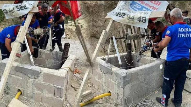 Adana'da su kuyusu 4 kişinin canını aldı