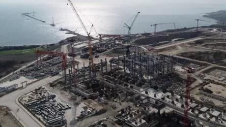 Termik santral inşaatı ÇED raporuna aykırı ilerliyor