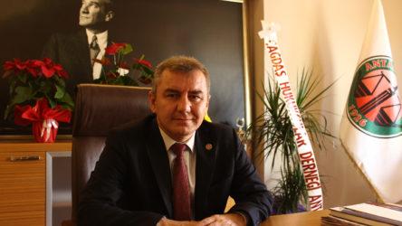 Antalya Barosu Başkanı Polat Balkan kalp krizi geçirdi