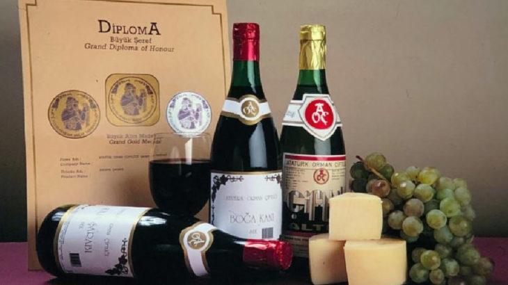 AOÇ'de üretilen 68 bin litre şarap yok