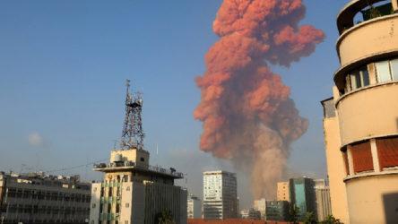 Beyrut'ta hayatını kaybedenlerin sayısı 135'e yükseldi