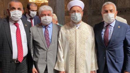 Diyanet İşleri Başkanı ile fotoğraf çektirmişlerdi: 3 AKP'li vekil koronaya yakalandı