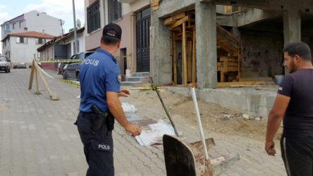 2. kattan düşen inşaat işçisi yaşamını yitirdi