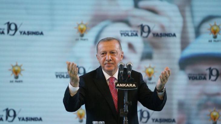 Partisinin kuruluşunun 19. yıldönümünde Erdoğan: Tek vaatleri beni indirmek