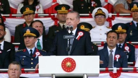 Erdoğan: Biz bu mücadelede şehitler vermekten çekinmeyiz