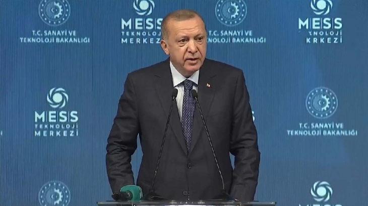 Erdoğan: Salgın, iş dünyasında yeni kapılar açılmasına vesile oldu