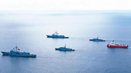 Erdoğan'ın ardından Milli Savunma Bakanlığı'ndan Oruç Reis açıklaması