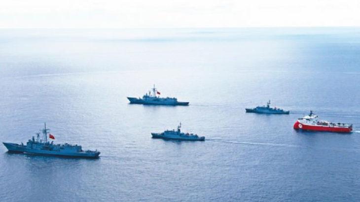 Oruç Reis gemisi için yeni Navtex ilanı