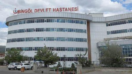 Bingöl Devlet Hastanesi'nde 33 sağlık emekçisinin Covid-19 testi pozitif