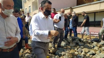 Pakdemirli'den Giresun açıklaması: İlk defa böyle büyük bir doğal afet görüyorum