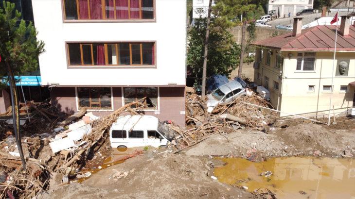 Soylu: Giresun'daki selde can kaybımız 10 oldu