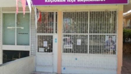 Ankara'da HDP binasına saldırı