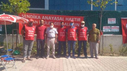 Özer Elektrik işçilerine Sınıf Tavrı'ndan destek ziyareti