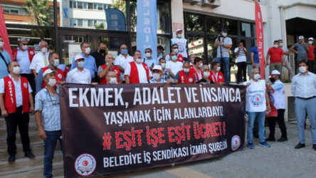 İzmir Büyükşehir Belediyesi'nde grev