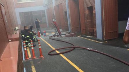 İzmit'te fabrikada yangın: 10 işçi hastaneye kaldırıldı