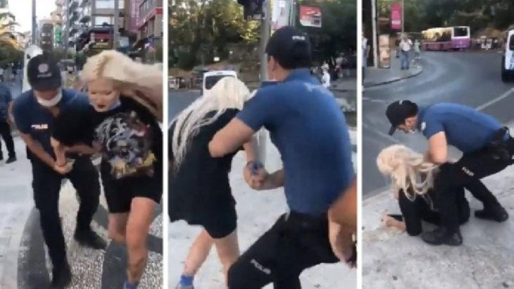 Kadıköy'deki darp görüntülerinin ardından açığa alınan polisler göreve iade edildi