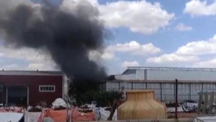 Kırşehir'de fabrikada yangın çıktı: 2 işçi yaralı