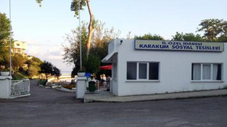 Sinop'ta bir sosyal tesis karantinaya alındı