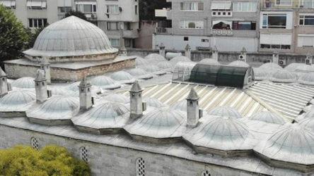 1548 yılında yapılan camiye klima üniteleri